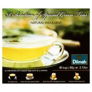 Dilmah Natural Indulgent Zestaw zielonych herbat 60 g (40 torebek)