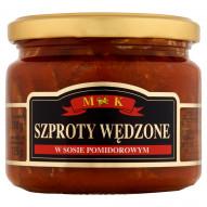 MK Szproty wędzone w sosie pomidorowym 250 g