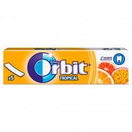 Orbit Tropical Guma do żucia bez cukru 13 g (5 sztuk)