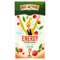 Big-Active Energy Herbata zielona guarana z yerba mate 30 g (20 x 1,5 g)
