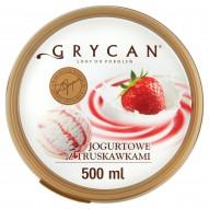 Grycan Lody jogurtowe z truskawkami 500 ml