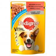 Pedigree Vital Protection Karma pełnoporcjowa z wołowiną i marchewką w musie 100 g