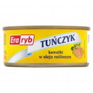 Era Ryb Tuńczyk kawałki w oleju roślinnym 170 g