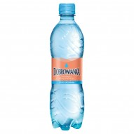Dobrowianka Naturalna woda mineralna lekko gazowana 500 ml