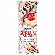 Góralki smak sernika Wafelek z kremowym nadzieniem o smaku sernika 50 g