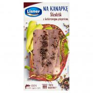 Lisner Na kanapkę Śledzik z kolorowym pieprzem 140 g