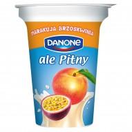Danone ale Pitny Brzoskwinia marakuja Napój jogurtowy 300 g