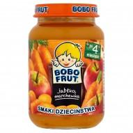Bobo Frut Smaki Dzieciństwa Jabłko marchewka po 4 miesiącu 185 g