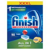 Finish All in 1 Lemon Tabletki do zmywarki 1440 g (90 sztuk)