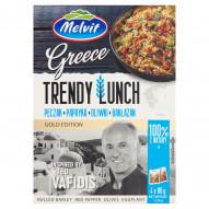 Melvit Gold Edition Greece Trendy Lunch pęczak papryka oliwki bakłażan 320 g (4 x 80 g)