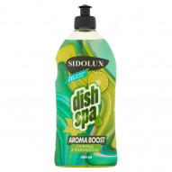 Sidolux Dish Spa Aroma Boost cytryna z karambolą Żel do mycia naczyń 500 ml