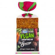 Melvit Crispy Vegan Pieczywo chrupkie żytnie 8 warzyw 130 g