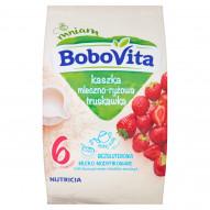BoboVita Kaszka mleczno-ryżowa truskawka po 6 miesiącu 230 g