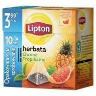 Lipton Owoce Tropikalne Herbata czarna 18 g (10 torebek)