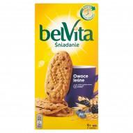 belVita Śniadanie Owoce leśne Ciastka z pełnym ziarnem 300 g (6 x 4 sztuki)
