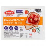 Incola Chleb świeży z maczkiem bezglutenowy 350 g