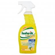 Ludwik z alkoholem Lemon Płyn do mycia szyb i glazury 750 ml