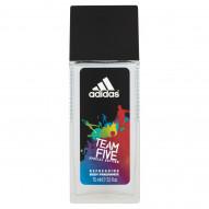 Adidas Team Five Odświeżający dezodorant z atomizerem dla mężczyzn 75 ml
