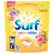 Surf Color & White Hawaiian Dream Kapsułki do prania 337 g (14 sztuk)