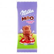 Milka Moo Czekolada mleczna z nadzieniem malinowym 16 g