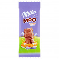 Milka Moo Czekolada mleczna z nadzieniem karmelowym 16 g