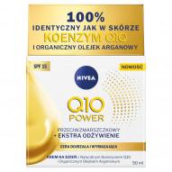 NIVEA Q10 Power Przeciwzmarszczkowy + Ekstra Odżywienie Krem na dzień SPF 15 50 ml