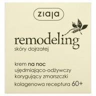 Ziaja Remodeling skóry dojrzałej Krem na noc ujędrniająco-odżywczy korygujący zmarszczki 50 ml