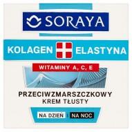 Soraya Kolagen + Elastyna Przeciwzmarszczkowy krem tłusty na dzień i na noc 50 ml