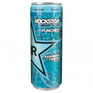 Rockstar Gazowany napój energetyzujący o smaku malinowym 250 ml