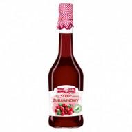 Polska Róża Syrop żurawinowy domowy niesłodzony 500ml
