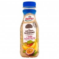 Hortex Sok 100% tłoczony prosto z jabłek z bananem i marakują 300 ml