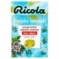 Ricola Alpejska świeżość szwajcarskie cukierki ziołowe 40 g