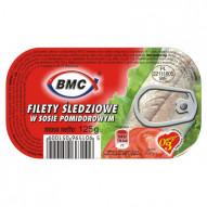 BMC Filet Śledziowy w pomidorach 125G