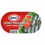 BMC Szprot w pomidorach 170G
