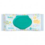 Pampers Fresh Clean Chusteczki dla niemowląt, 64 sztuki