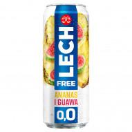 Lech Free Piwo bezalkoholowe ananas i guawa 500 ml