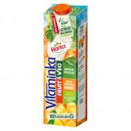 Hortex Vitaminka Fruit & Veg Sok jabłko pomarańcza mango marchew pietruszka 1 l
