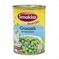 Smakko Groszek konserwowy 400g